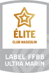 Remise label FFBB Ultramarin Elite Or Club Masculin